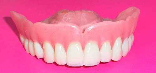 Как ухаживать за зубными протезами фото: