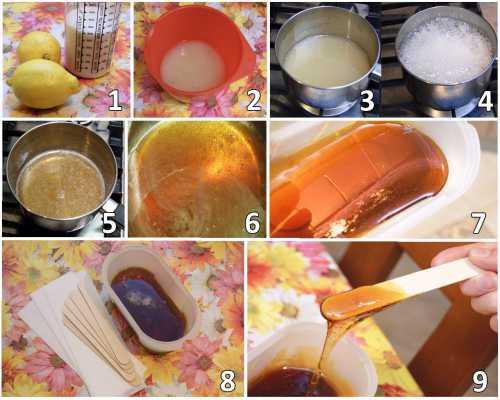 Шугаринг в домашних условиях: эффективные рецепты сахарной пасты