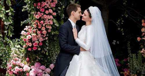 Миранда Керр впервые поделилась фото со свадьбы