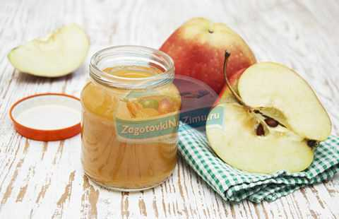 Рецепты пюре из яблок для детей и для грудничков,