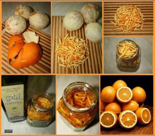 Апельсиновые корки для красоты и здоровья