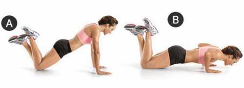 Пять эффективных упражнений для красивой груди