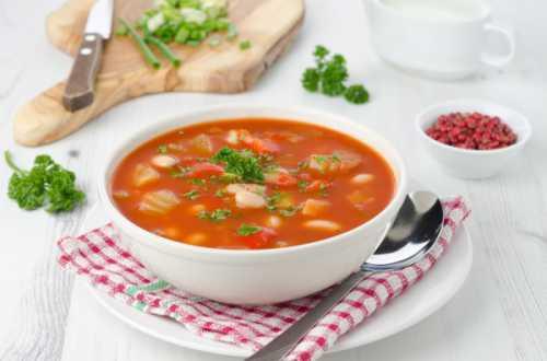 Рецепты супа из белой фасоли, секреты выбора