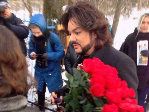 Киркоров навестил могилу прадеда в Екатеринбурге