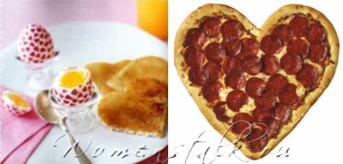 Рецепты на День Святого Валентина – быстро и просто