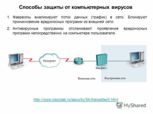 Способы защиты от вредоносных вирусов