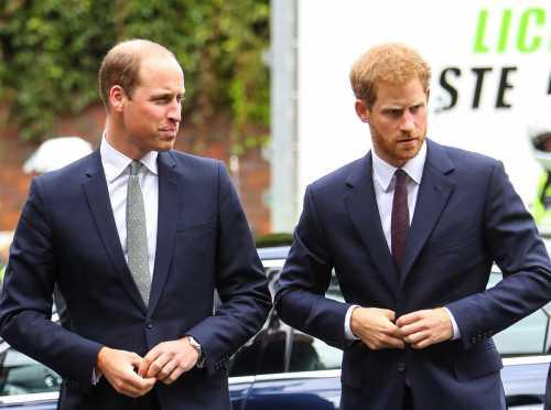 Принц Уильям будет шафером на свадьбе брата Гарри и Меган Маркл