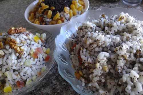 Рецепты кутьи с изюмом, из риса, поминальной