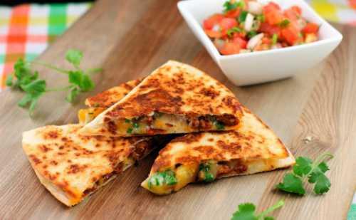 Рецепты  тортильи с сыром, секреты выбора