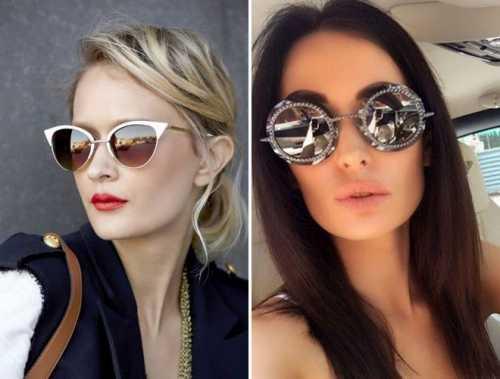 Модные женские солнцезащитные очки 2018