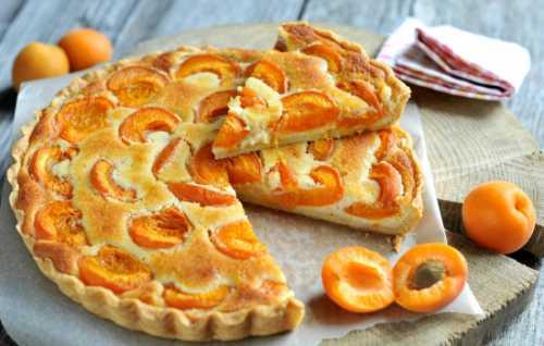 Рецепты пирога с абрикосами на кефире, секреты