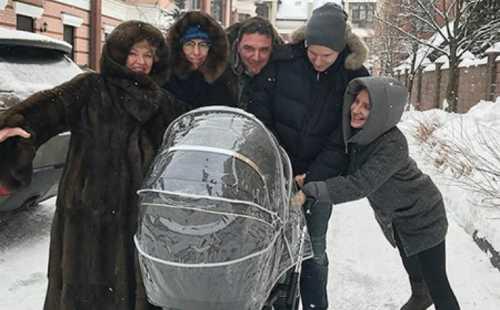Виторган порадовал Собчак трогательным фото с сыном