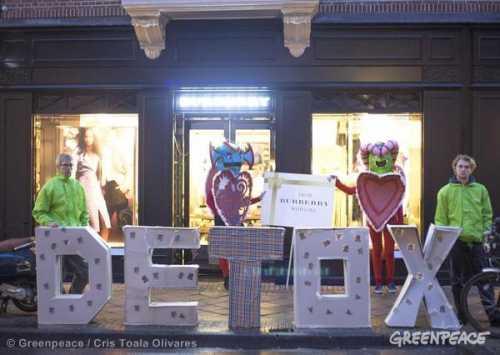 Greenpeace: в детской одежде мировых брендов