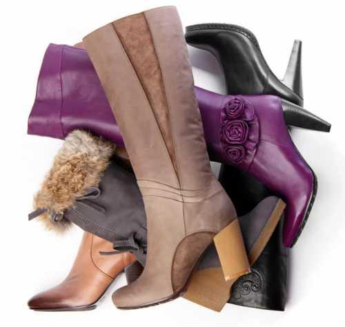 Особенности хранения зимней обуви