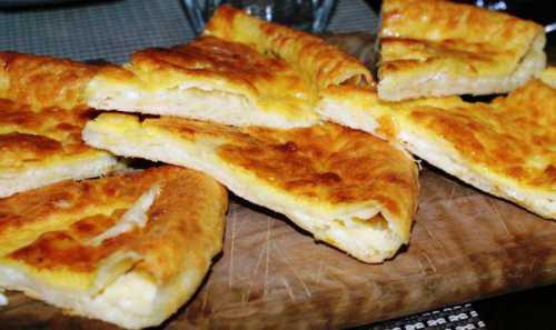 Пирог с адыгейским сыром