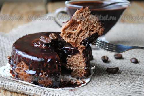 Шоколадная глазурь из какао и молока