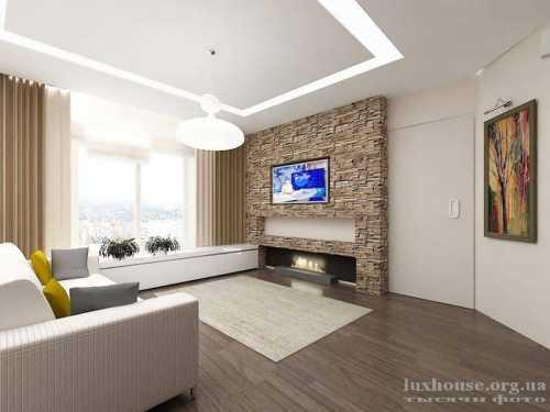 Электрокамины для квартиры в интерьере гостиной и спальни