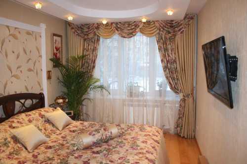 Красивые шторы в спальню современном, английском стиле, прованс, хай