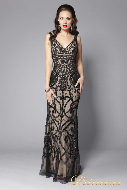 Атрибут королевы: коктейльное платье со стразами