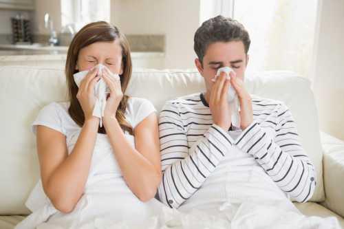 Роды при гриппе и ОРВИ