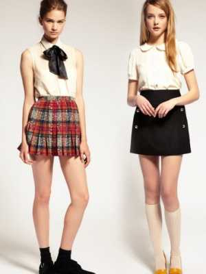 Школьные юбки для старшеклассниц