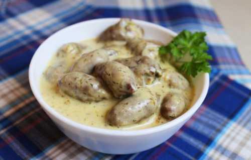 Рецепты курицы в сметанном соусе: секреты выбора
